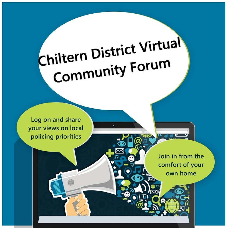 Virtual Community Forum June 26th – Chiltern Community Forum