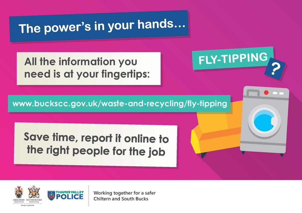 Fly Tipping – how to report it