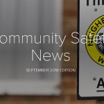 community safety news 2018 front cover