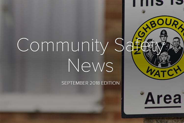 Community Safety Newsletter September 2018