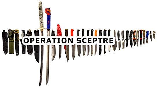 Operation Sceptre – Knife Surrender Bins