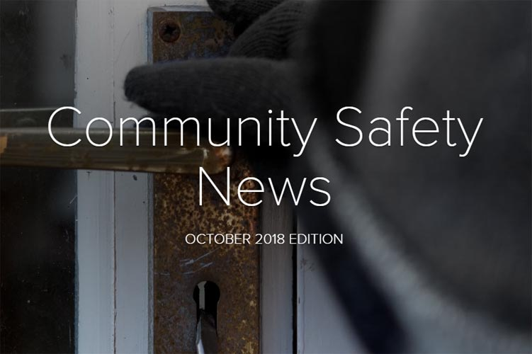 Community Safety Newsletter October 2018