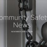 cover of chiltern community safety news november 2018
