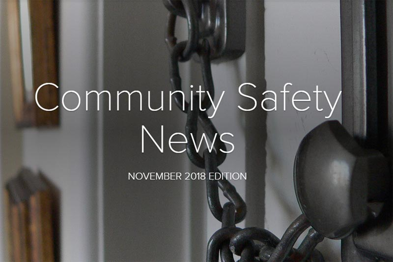 Community Safety Newsletter November 2018