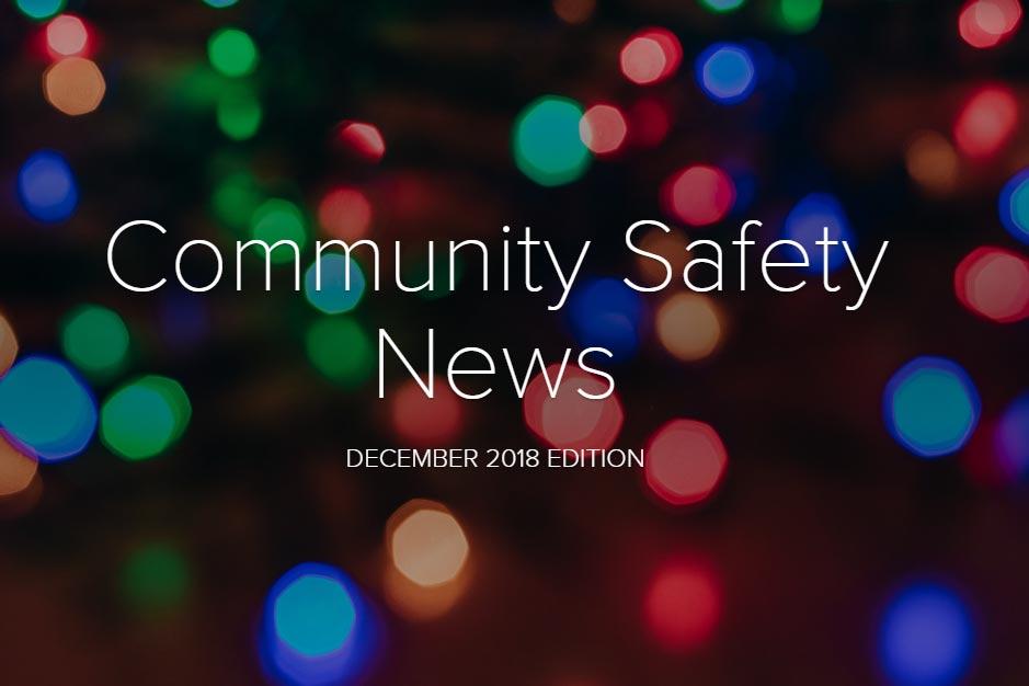 Community Safety Newsletter December 2018
