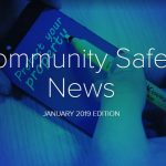 community safety news cover january 2019