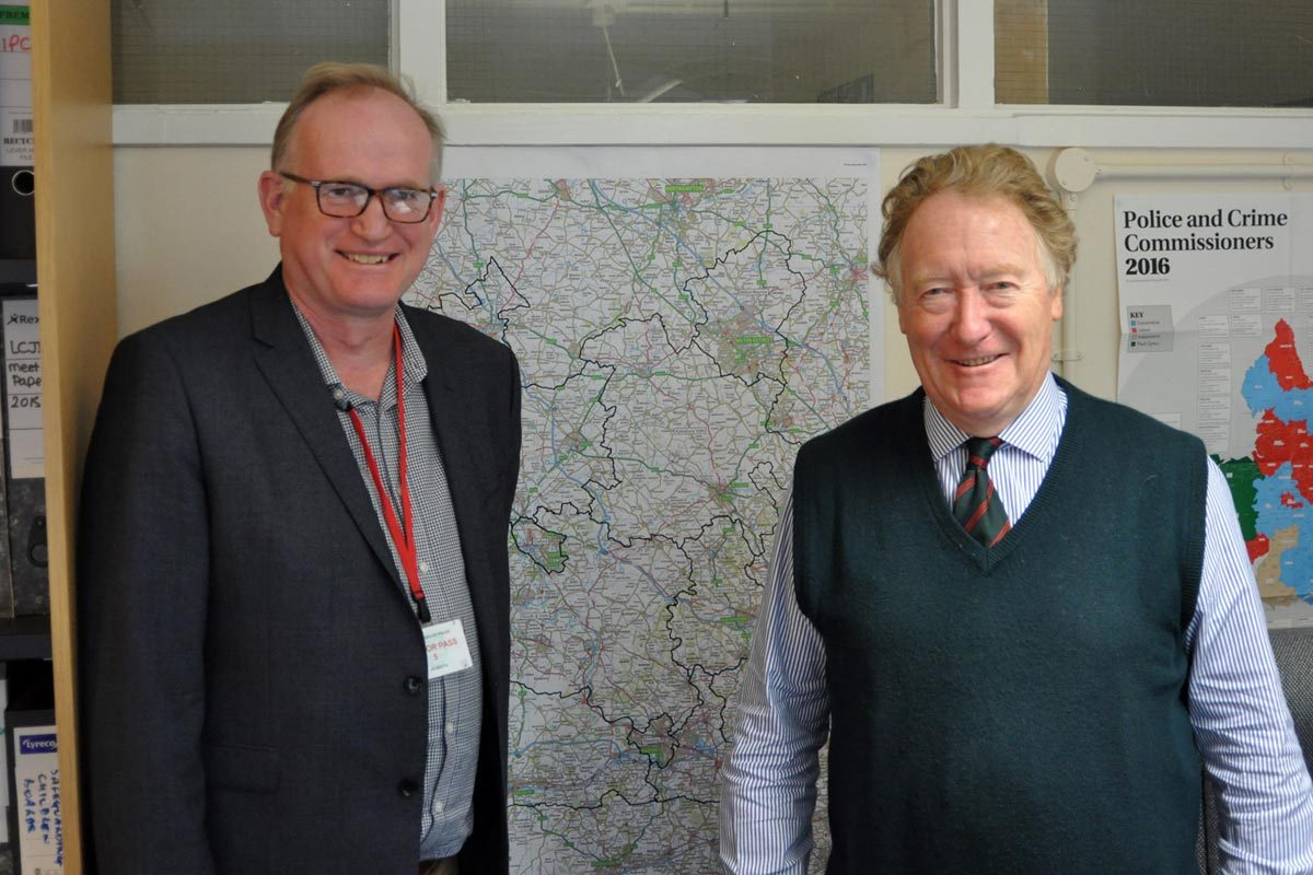 Meeting with Thames Valley Police & Crime Commissioner