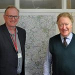 Thames Valley Ppolice and Crime Commissioner Anthony Stansfeld with Chiltern Community Forum Chair Andy Garnett