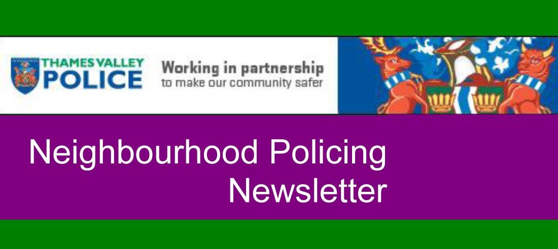 Neighbourhood Policing Newsletters, Q4 2018
