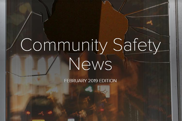 Community Safety Newsletter February 2019