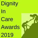 graphic for dignity in care awards 2019
