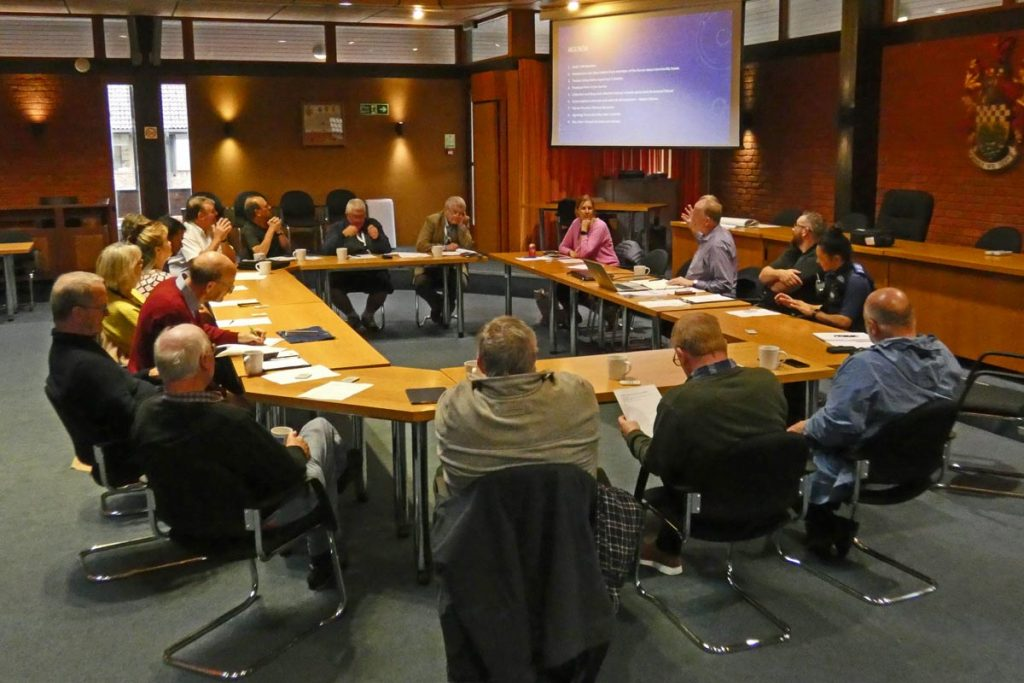 September 2019 meeting of Chiltern Community Forum
