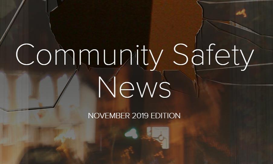 Community Safety Newsletter November 2019