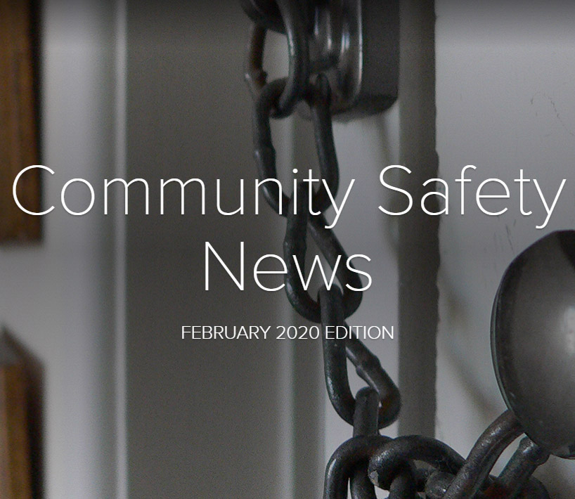 Community Safety Newsletter February 2020