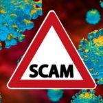 coronavirus scams image