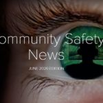 front cover of bucks community safety update june 2020