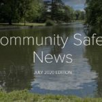 front cover of bucks council community safety newsletter july 2020