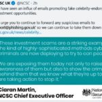 national cyber security centre detail on reporting phishing