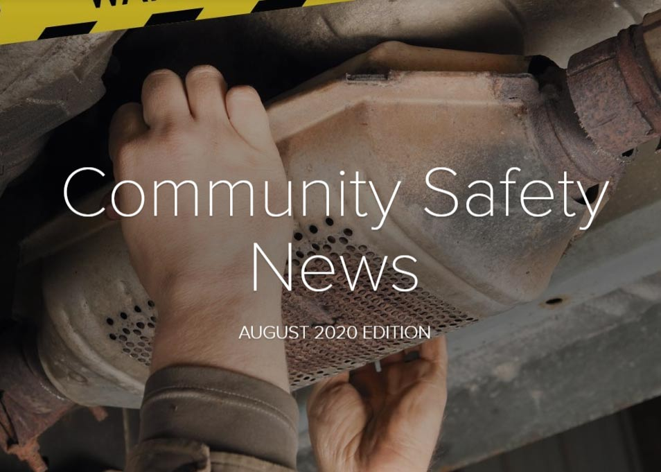 Buckinghamshire Community Safety Newsletter August 2020