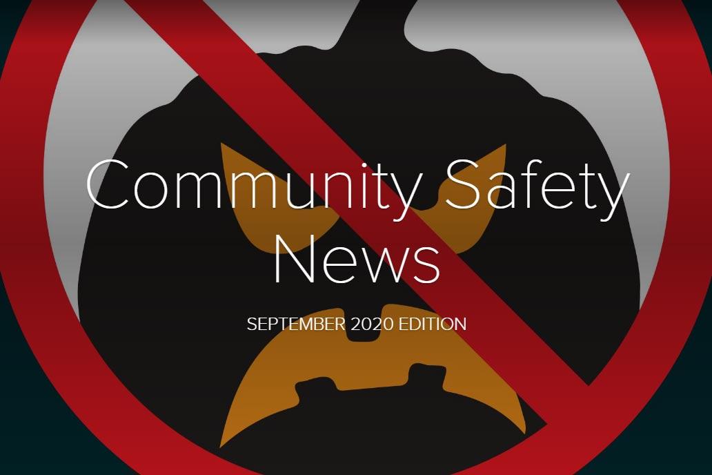 Buckinghamshire Community Safety Newsletter September 2020