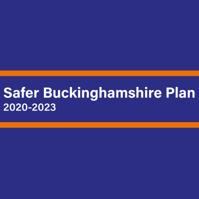 Safer Buckinghamshire Plan 2020-2023