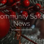 Cover page of Buckinghamshire Community Safety newsletter December 2020fr