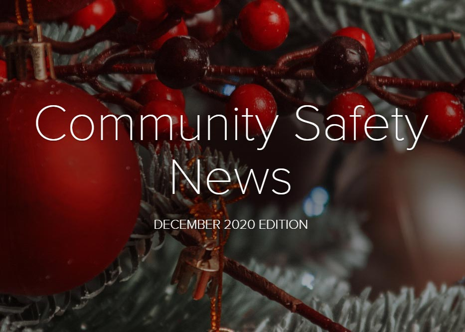 Buckinghamshire Community Safety Newsletter December 2020