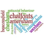 chiltern and south bucks wordcloud