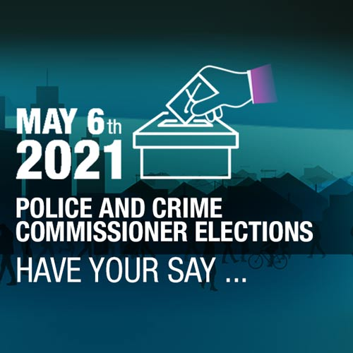 Police & Crime Commissioner Election May 6th