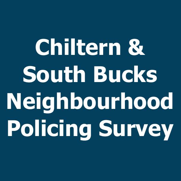 Neighbourhood Policing Survey now OPEN