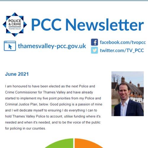 June 2020 Police & Crime Commissioner Newsletter